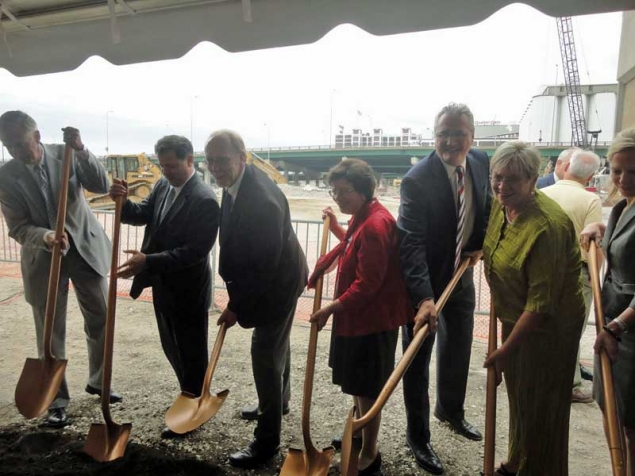 Ground is broken for a new convention center complex in Cedar Rapids