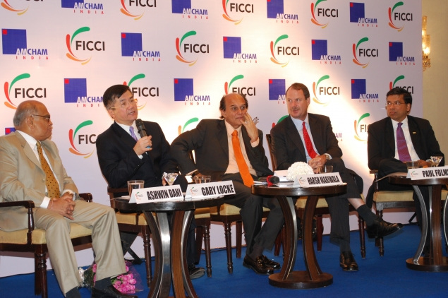 Secretary Locke and CEOs of Indian Companies Take Questions