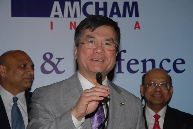 Secretary Locke Addresses the American Chamber of Commerce in Bangalore