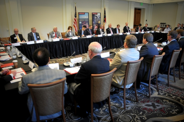 President's Council on Jobs and Competitiveness listening and action session.