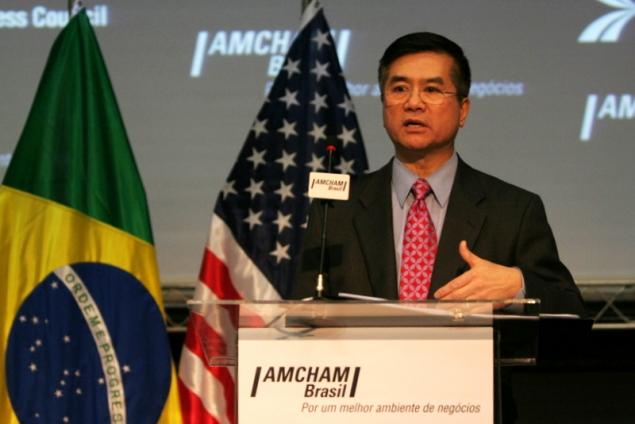 Secretary Locke Addresses the American Chamber of Commerce in Brazil