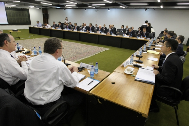 Secretary Locke co-chairs the sixth meeting of the U.S.-Brazil CEO Forum with U.S. and Brazilian business leaders