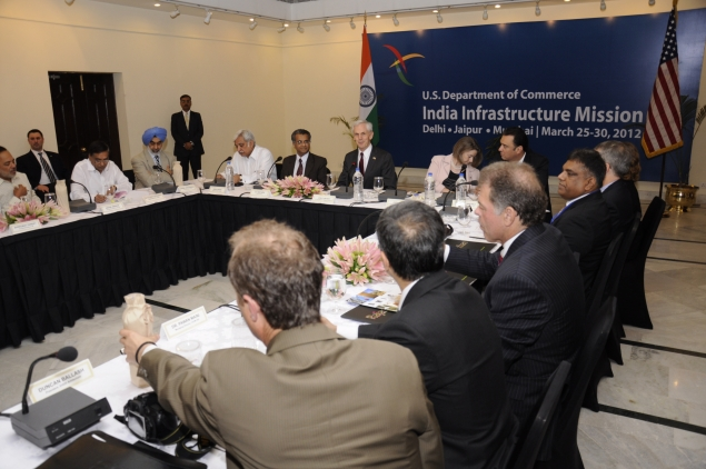 Secretary Bryson with a a group of Rajasthan industry representatives, where he discussed trade and investment opportunities that benefit both the United States and India.Secretary Bryson with a a group of Rajasthan industry representatives, where he discussed trade and investment opportunities that benefit both the United States and India.