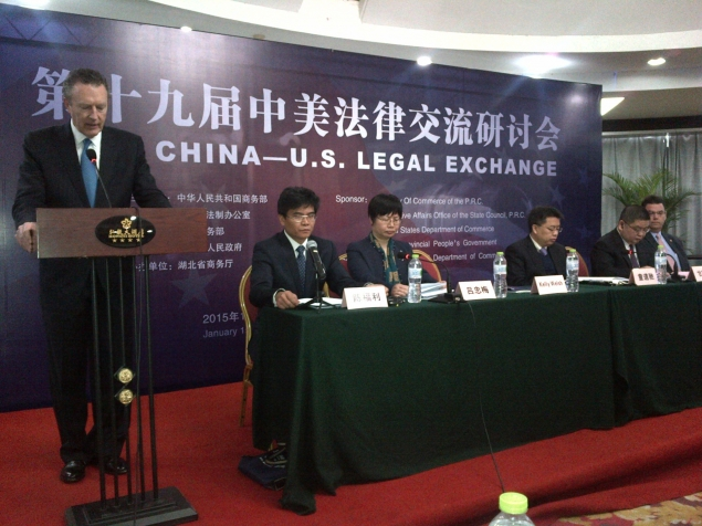General Counsel Welsh led the U.S. delegation for the 19th U.S.-China Legal Exchange