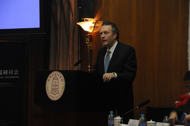 General Counsel Welsh speaks at Tsinghua University in Beijing