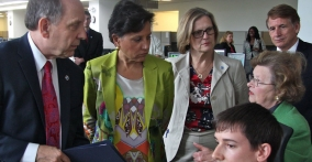 Secretary Pritzker Visits NOAA's Center for Weather and Climate Prediction