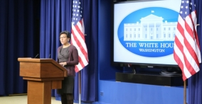 Secretary Pritzker at the White House promoting the Administration's Patent Action