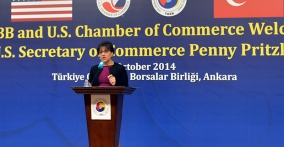 Secretary Pritzker and CEOs from the President's Export Council Explore Market Opportunities with Turkish Business Leaders