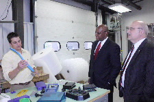 Wade touring manufacturing facility