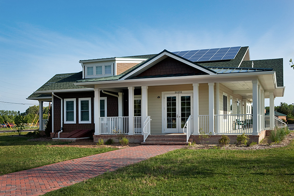 Energy house in delaware is retraining and giving former for For house