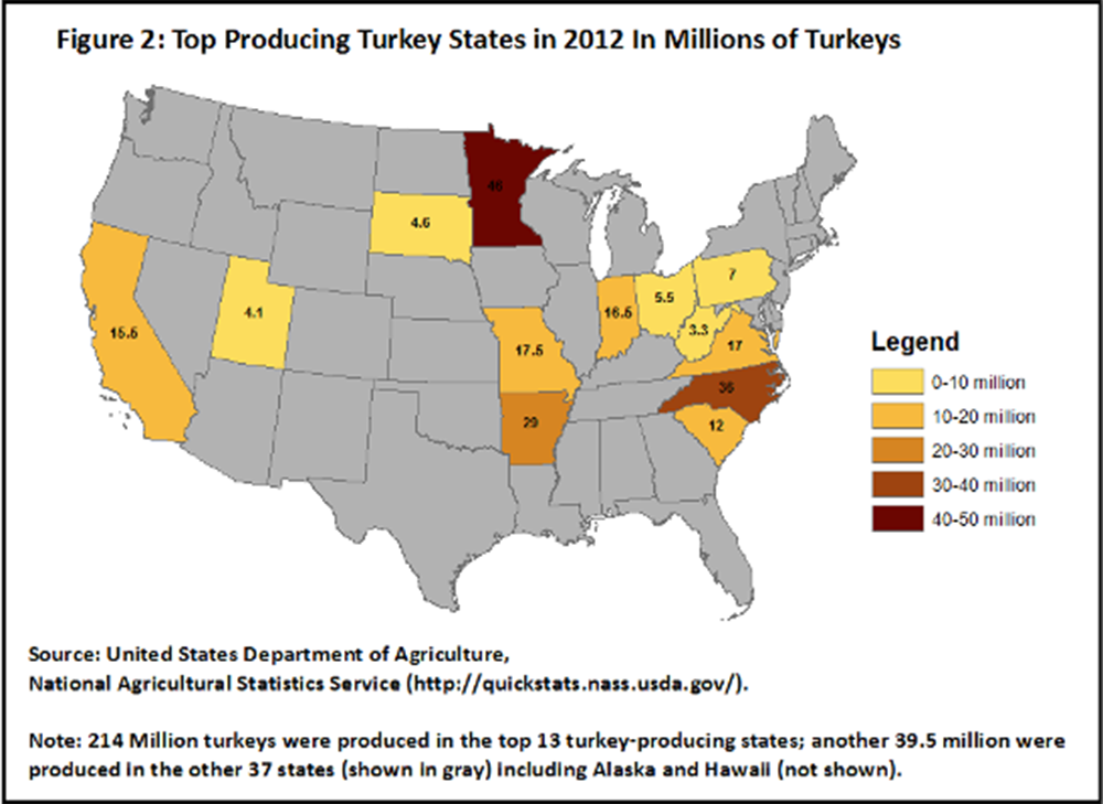 Blog Category Agriculture Department Of Commerce - Agriculture by state us map