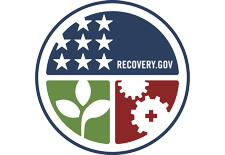 American Recovery and Reinvestment Act logo.