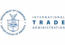 International Trade Administration logo.