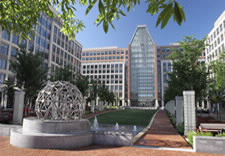 Photo of USPTO campus.
