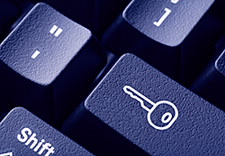 Image of computer keyboard keys.