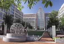 Campus of USPTO in Alexandria, Virginia.