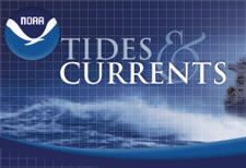 Tide and Currents logo. Click to go to NOAA Center for Operational Oceanographic Products and Services Web site.