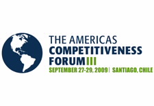 Americas Competitiveness Forum 2009 logo. Click to visit ACF Web site.
