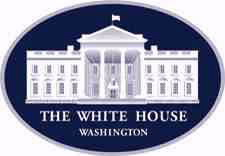 Official White House logo. Click to go to www.whitehouse.gov.