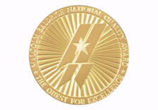 Image of Baldrige Award medal. Click to go to Web site.