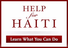 Help for Haiti icon. Click to go to Web site.