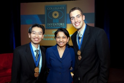 Harris Wang, Harvard Medical School; Arti Rai, USPTO Administrator for External Affairs; Stephen Diebold University of Illinois