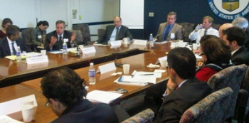 Members of the Renewable Energy and Energy Efficiency Advisory Committee Meet