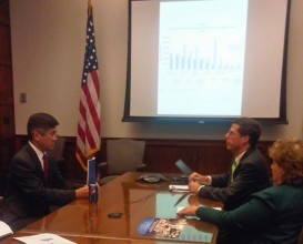 Sec. Locke Meets with Economic Team