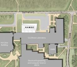 Artist rendering of new science facility