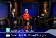 Commerce Secretary Gary Locke joined Health and Human Services Secretary Kathlee